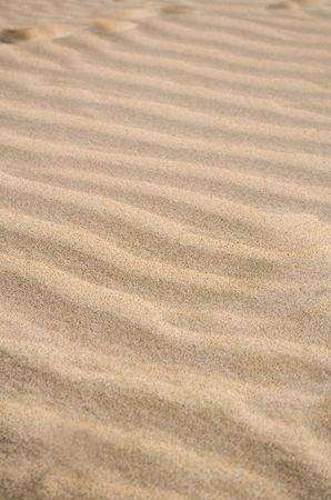 Waves in the sand