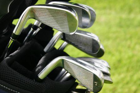 caddie: Golf clubs
