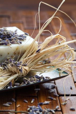 cleaness: Natural lavender soap and lavender seeds