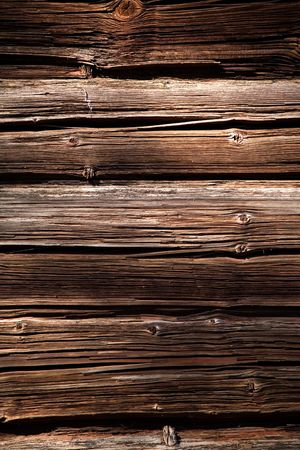 D�tail de l'ancien mur de bois