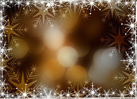 Christmas background with white snowflakes Stock Photo - 3771278