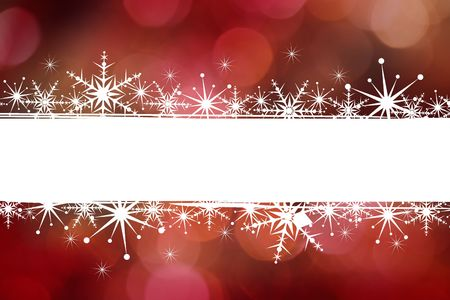 Christmas illustration with copyspace for text