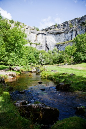 Yorkshire Dales: Beautiful landscape in Yorkshire Dales National Park in England
