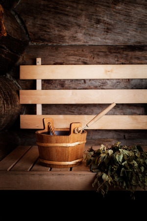 Sauna Accessories: towel, soap and vihta