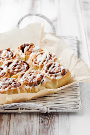 cream cheese: Cinnamon rolls with cream cheese icing