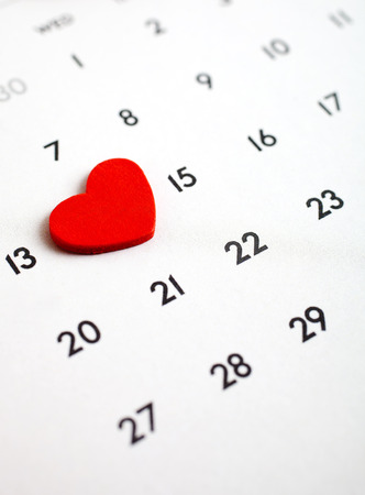 fourteenth: February 14th, the Valentine´s Day