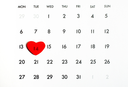 reminding: February 14th, the Valentine´s Day