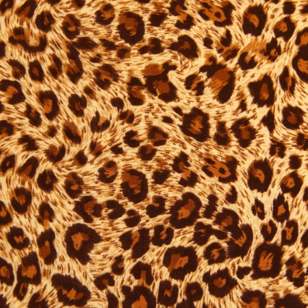 Texture of tiger fabric Stock Photo