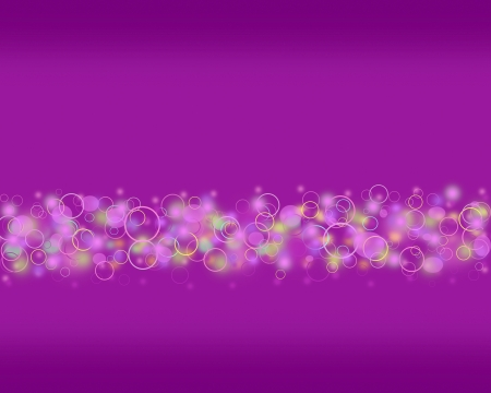 Abstract purple circle