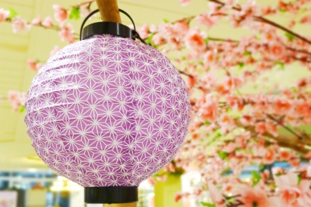Paper lantern decoration Stock Photo