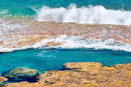 niue: Hikutavake reef flats and pool, Niue