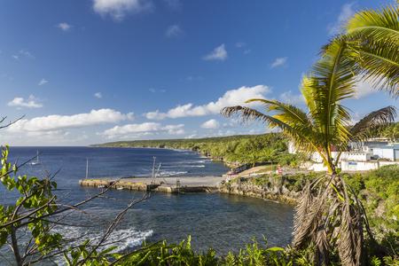 niue: Sir Roberts Wharf in Alofi, Niue, South Pacific
