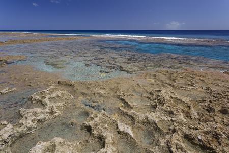 niue: Hikatuvake Reef Flats, Niue, South Pacific, Oceania