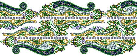 Beautiful folk art