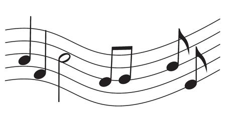 quavers: notes