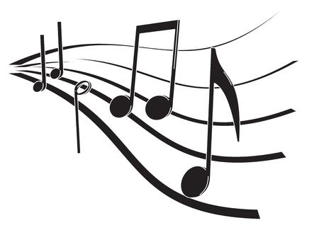 quavers: notes 3d