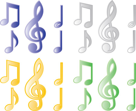 quavers: music note