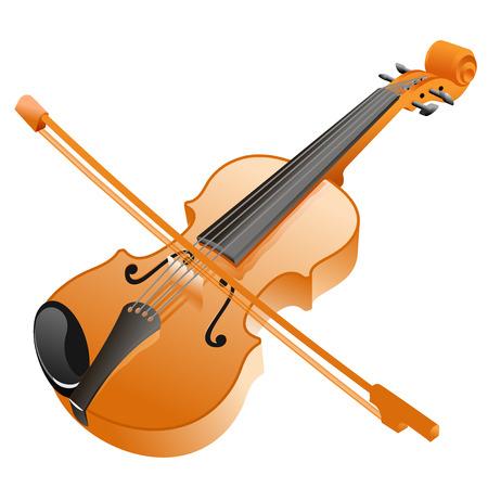 violin vector illustration Illustration