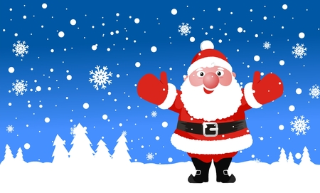 santa claus vector illustration Vector