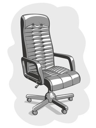 armrest: Office chair Illustration