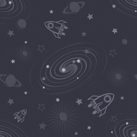 macrocosm: Space seamless pattern