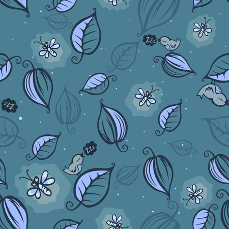 fireflies: Fireflies pattern Illustration