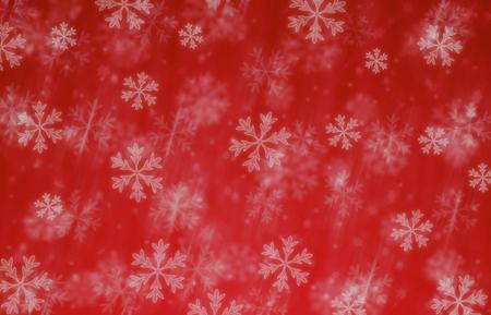 메리 크리스마스 눈 블리자드 빨간색 배경 일러스트 레이 션 스톡 콘텐츠