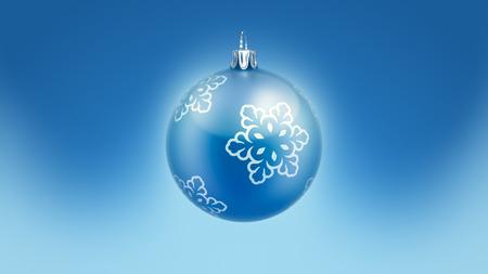 메리 크리스마스 트리 공 블루. 디자인 템플릿입니다.