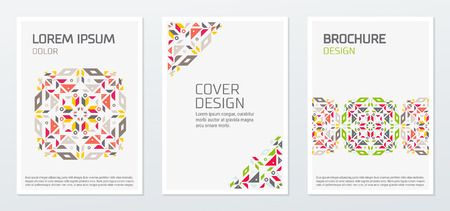 Abstract minimal geometric shapes polygon design vector background. For business annual report book, cover brochure flyer, poster.
