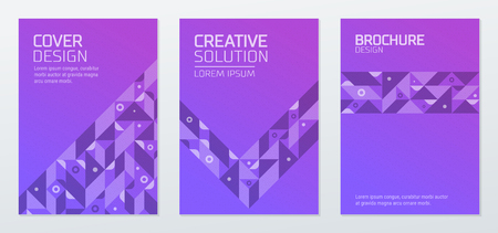 Abstract geometric shapes polygon design vector background. For business annual report book, cover brochure flyer, poster. 스톡 콘텐츠 - 102705467