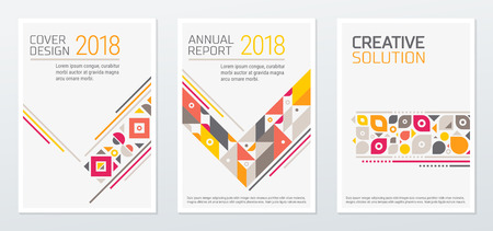 Abstract minimal geometric shapes polygon design vector background. For business annual report book, cover brochure, poster.