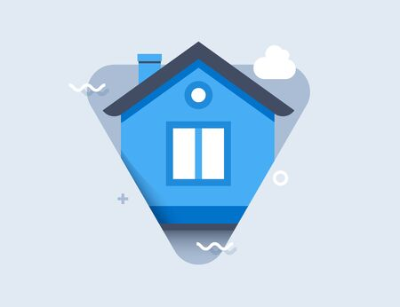 House icon. Vector image for use in web applications, mobile applications and print media.