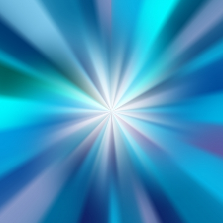 beautiful abstract blue glow rays