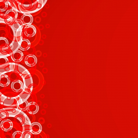 multicolored circles large and small on a 