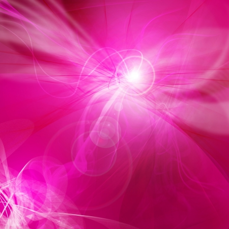 basic scheme: abstract  red-violet bombing, use of a background Stock Photo
