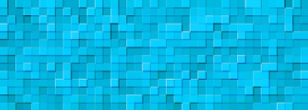 abstract background illusion blue mosaic photo