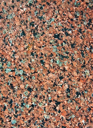 redecorate: Polishing pink granite natural rock in wall