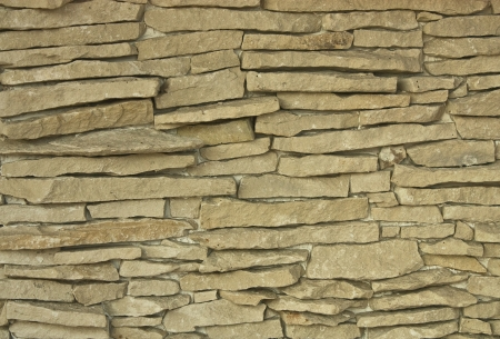 texture, rough masonry, a long stone Stock Photo - 16321127