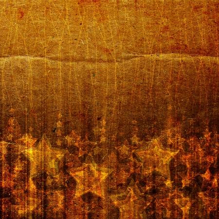 holidays shining star on the grunge background Stock Photo - 16322117
