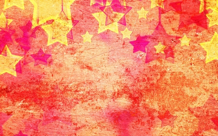 failures: abstract stars on the grunge New Year background