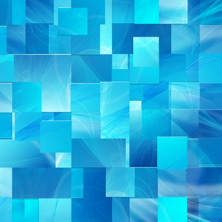 abstract blue background of the rectangles and lines photo