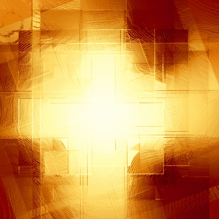 blurring: abstract  copper background of squares cruciform