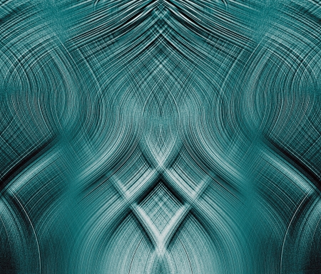 fantastic blue interlocking threads of relief   photo