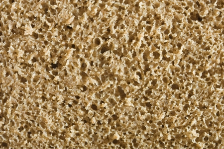 macro of wholemeal bread texture Stock Photo - 16328458