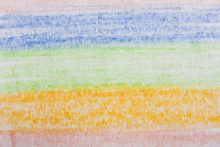 colored pencil drawing on white paper Stock Photo - 16328295