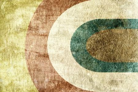 geometric background image with grunge texture Stock Photo - 16328450