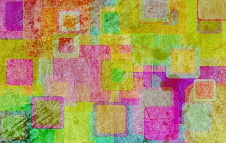 grunge squares on the wall, abstract background   photo