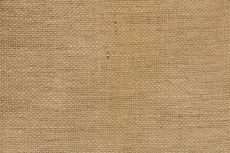 Close-up of natural burlap hessian sacking  photo