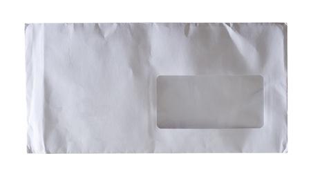 white envelope isolated on a white background Stock Photo - 16327804