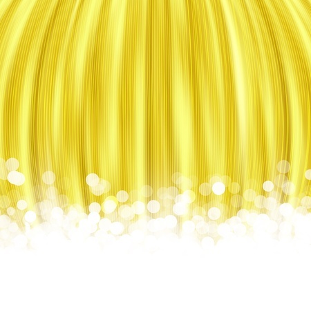 gold striped background with the lights blur, an abstraction photo
